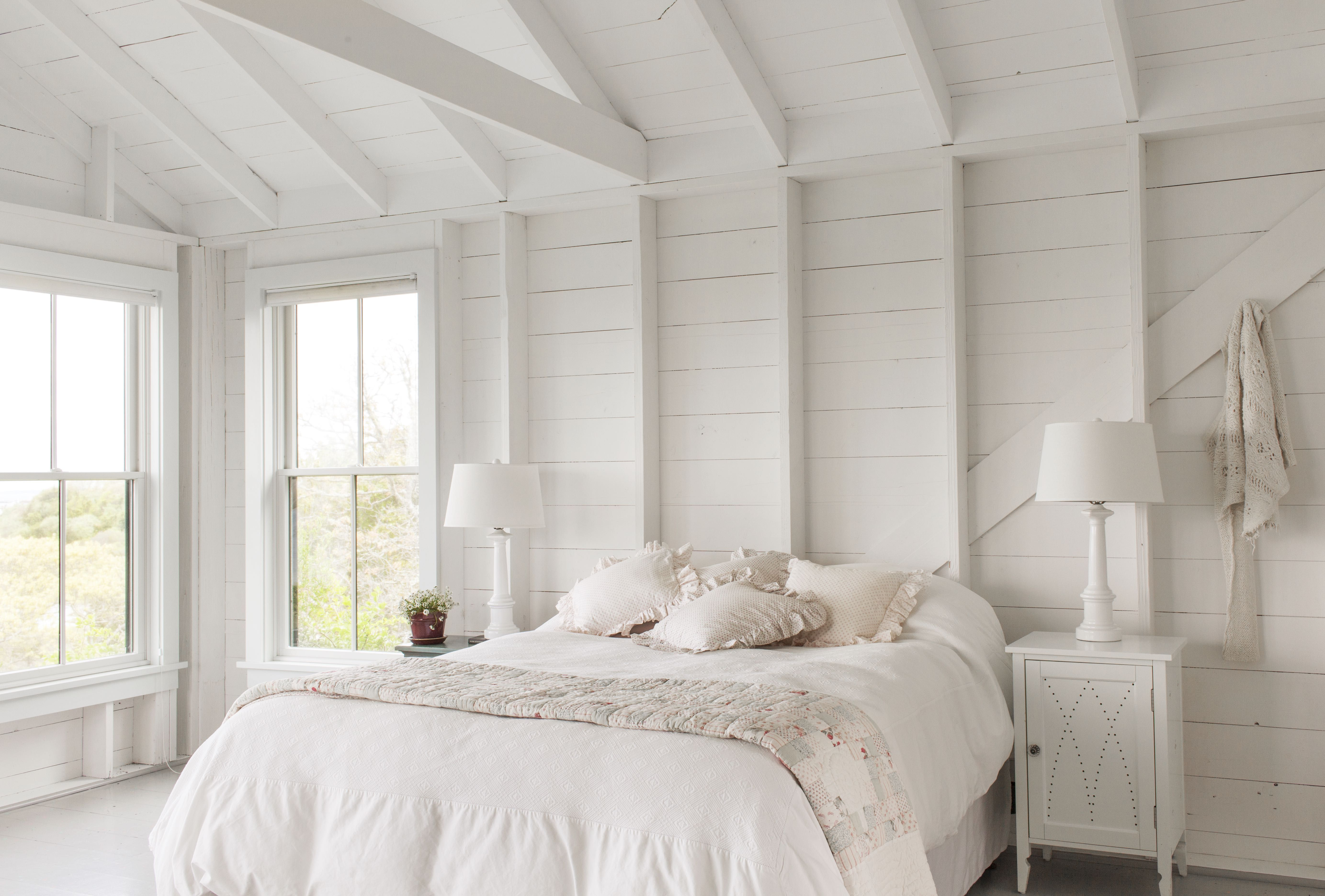 Monochromatic and Neutral Bedrooms That Are Far From Boring
