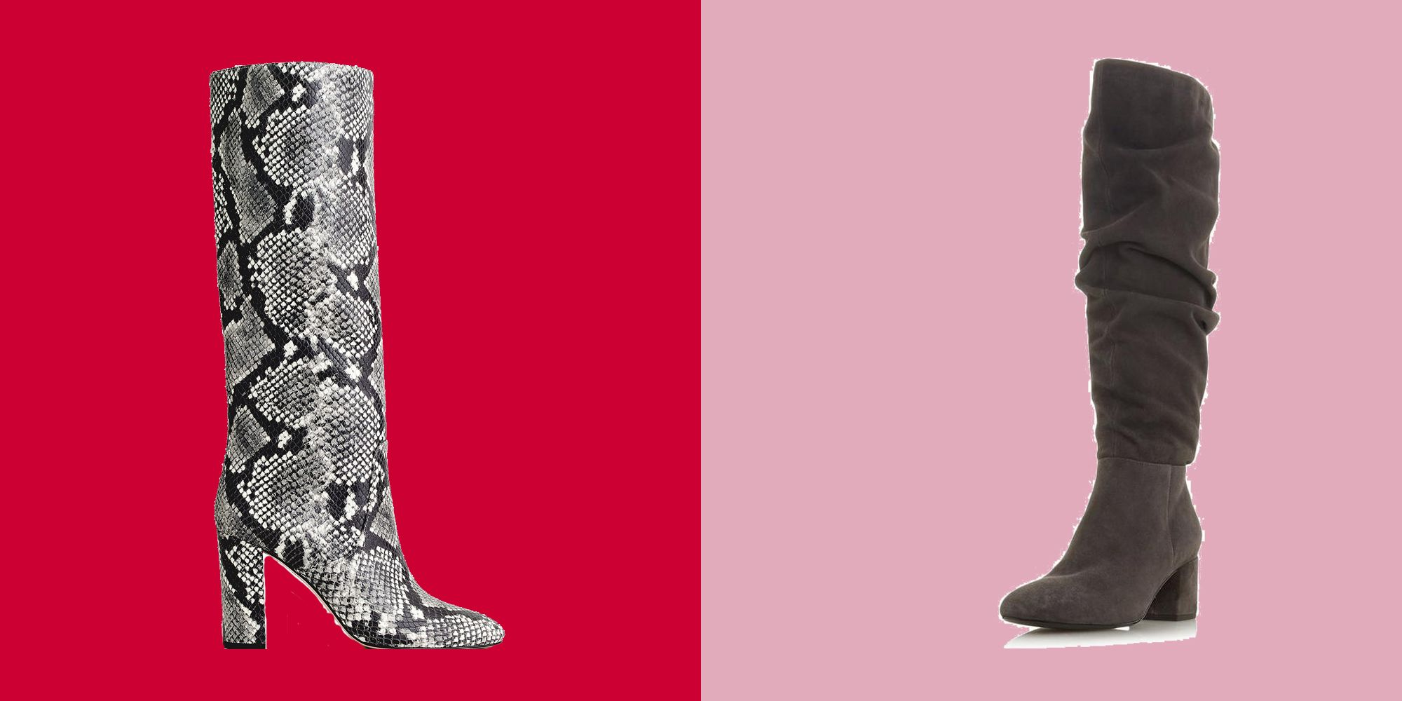 Our edit of the best knee-high boots to wear this season