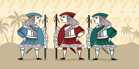 Riddle of the Week #50: Knights and Knaves, Part 8