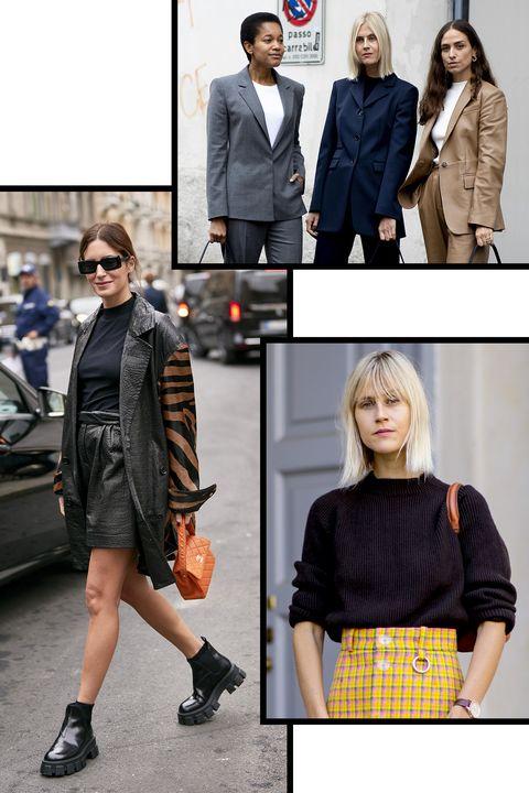 Clothing, Street fashion, Fashion, Outerwear, Footwear, Jacket, Shoe, Fashion model, Blazer, Shoulder,