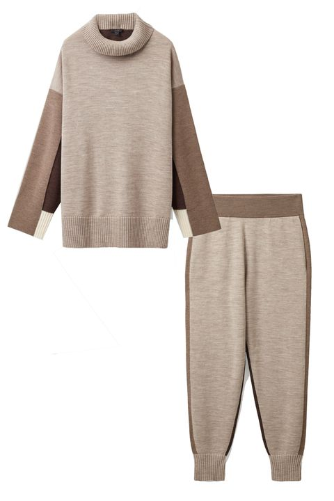 knitted loungewear for women