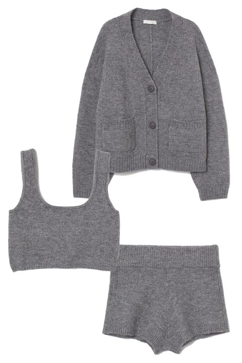 knitted loungewear sets for women