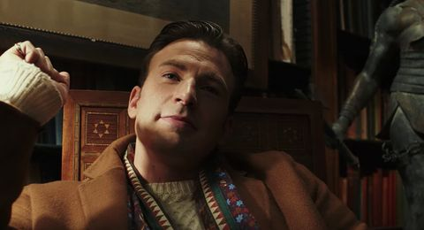Chris Evans in 'Knives Out'