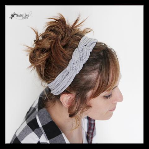 felt headband diy