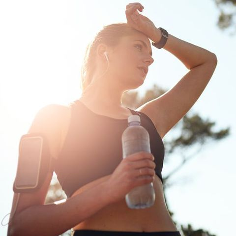 Water, Arm, Product, Bottle, Drinking, Neck, Shoulder, Joint, Elbow, Water bottle,