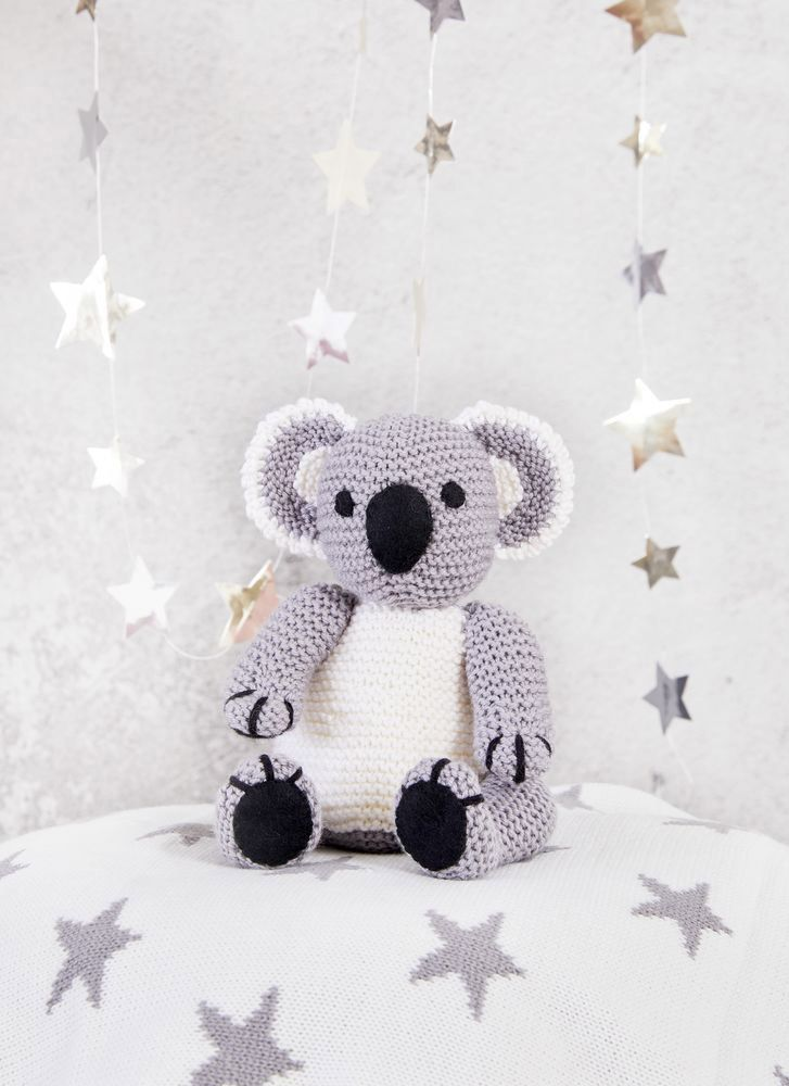Knit a cuddly koala with this free knitting pattern