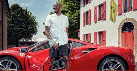 Kobe Bryant at Fiorano