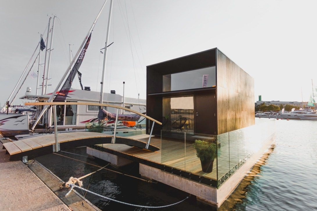 The Koda Light Float Tiny House is Way Cooler Than a Houseboat