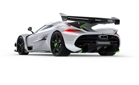 The 1600-HP Koenigsegg Jesko Isn't Just Insanely Fast, It's Also Technically Fascinating