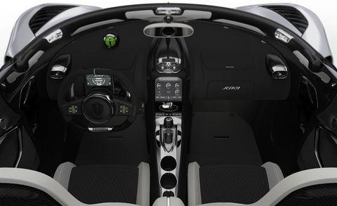 2021 Koenigsegg Jesko interior