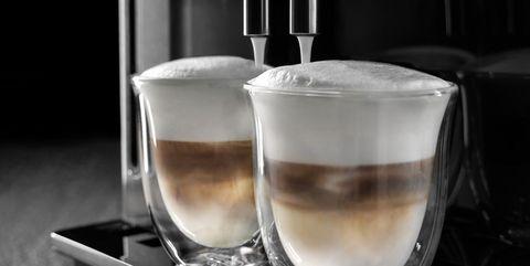 Espresso machine, Small appliance, Home appliance, Espresso, Cappuccino, Cup, Drink, Ristretto, Kitchen appliance, Coffeemaker,