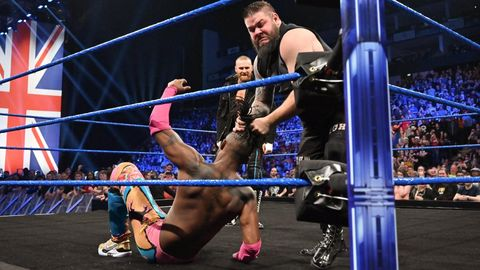 WWE SmackDown Live results - Sami Zayn helps out Kevin Owens
