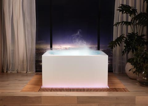 kohler, stillness bath, freestanding bath