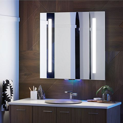 Pleasing Verdera Voice Lighted Mirror Camellatalisay Diy Chair Ideas Camellatalisaycom