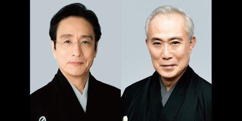 [東京]国立劇場  11月歌舞伎公演 中村吉右衛門(右)片岡仁左衛門(左)