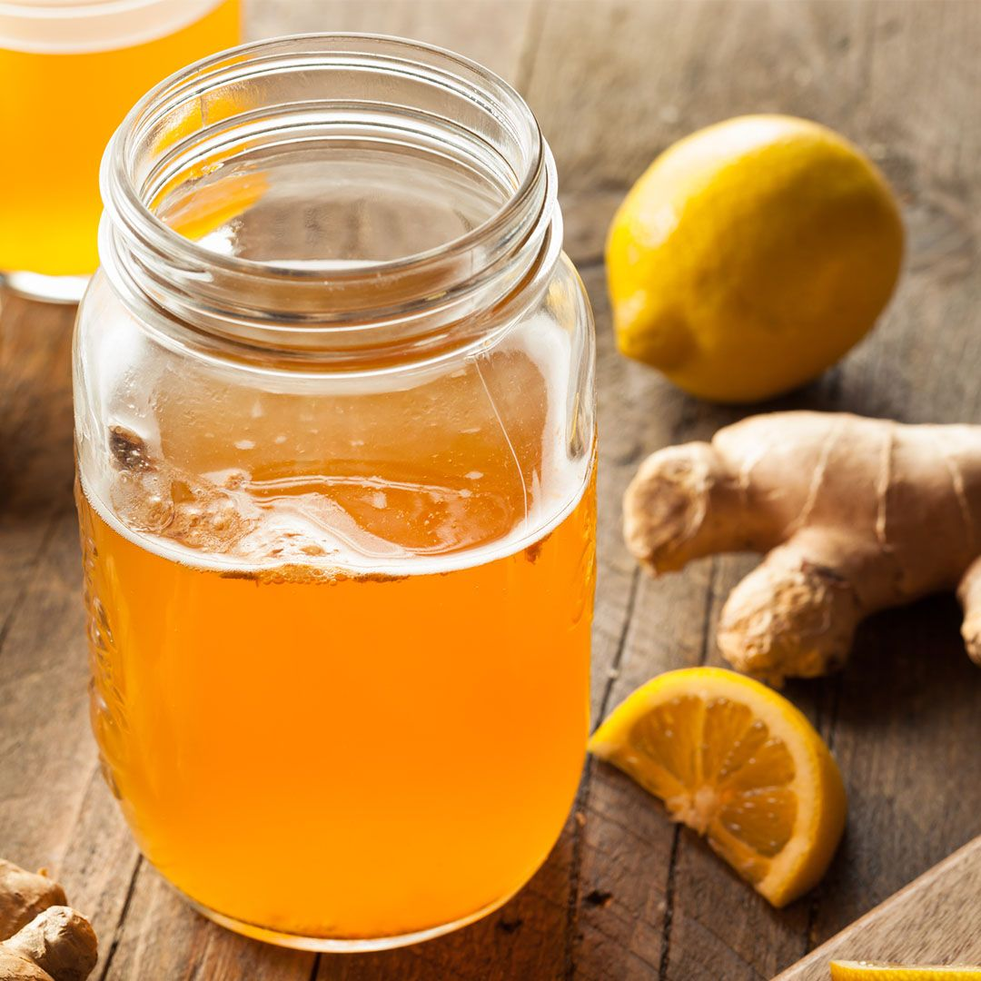 """Kombucha Although naturally-fermented foods are excellent your digestion and overall health, kombucha is mostly fermented yeast. """"Because so many people actually have an overgrowth of yeast in their digestive tracts, drinking kombucha regularly is like pouring fuel on a fire because it can make that imbalance worse,"""" says Foroutan."""