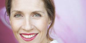 Close up portrait of a woman
