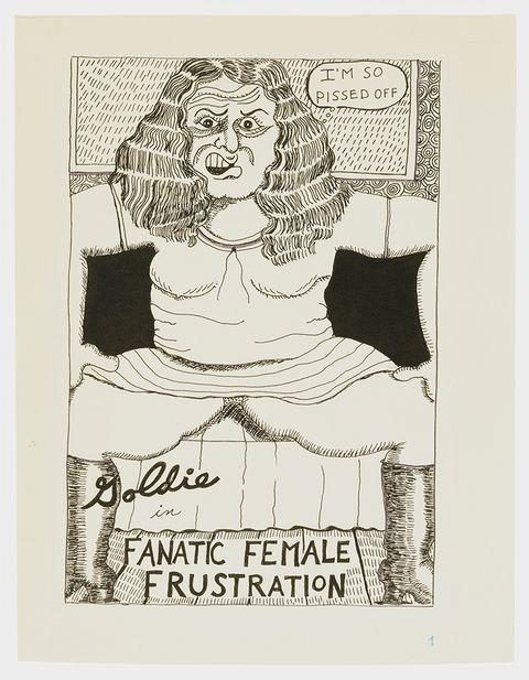 """goldie in fanatic female frustration"" aline kominsky crumb"