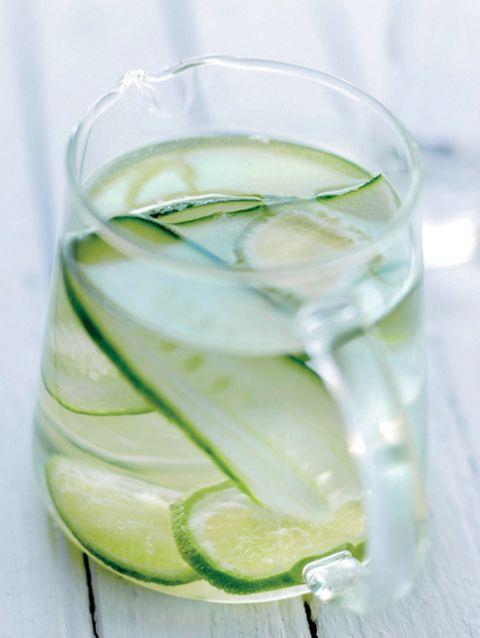 komkommer-limoenwater