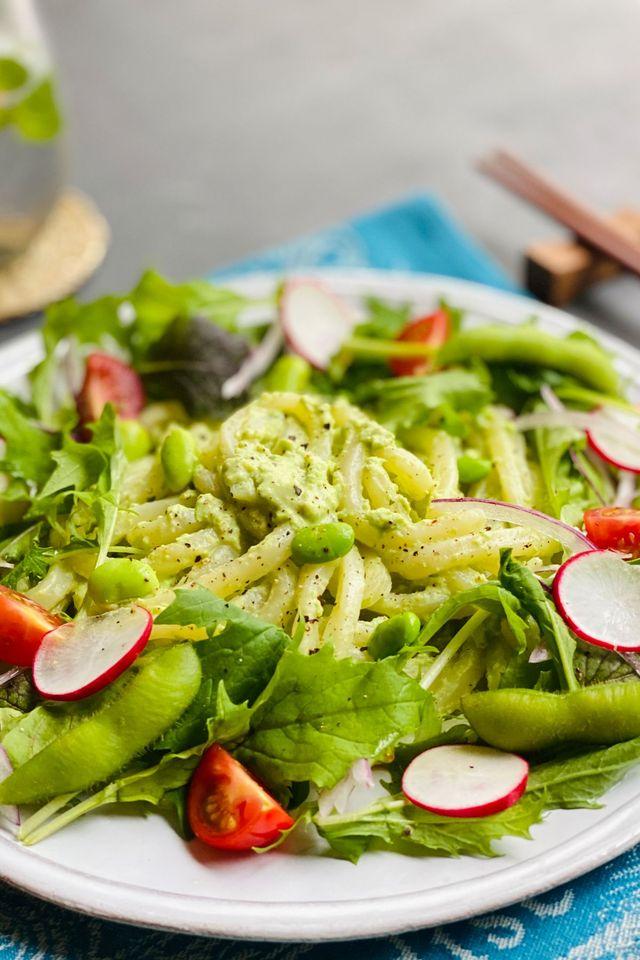 Dish, Food, Cuisine, Garden salad, Salad, Vegetable, Ingredient, Leaf vegetable, Produce, Cucumber,