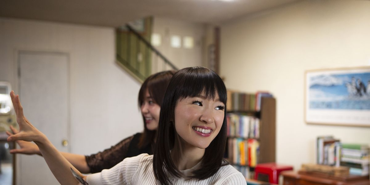 marie kondo show on netflix tidying up with marie kondo. Black Bedroom Furniture Sets. Home Design Ideas