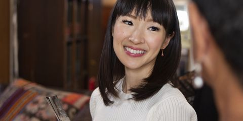 'Tidying Up With Marie Kondo' Is the Binge-Watch That Will Get You off the Couch