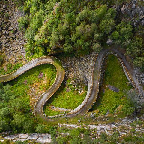 Kongevegen old trail over Filefjell, Norway