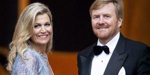 De Nederlandse koning Willem-Alexander en koningin Máxima