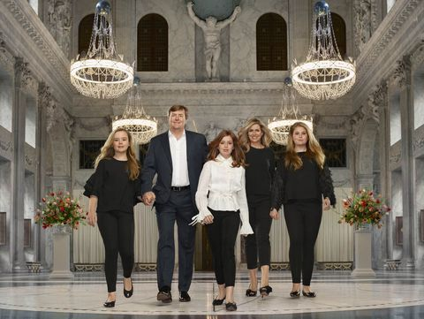 staatsieportret koninklijke familie