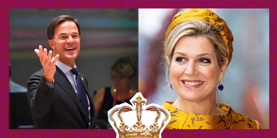 Koningin Máxima wordt gezien als de vriendin van Mark Rutte