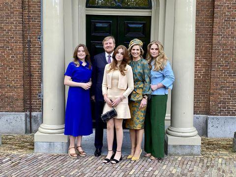 koningsdag 2021 máxima kleding en prinsessen op foto