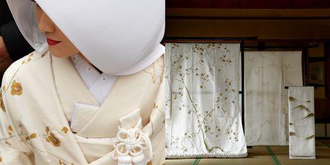 木島櫻谷が描いた婚礼衣装