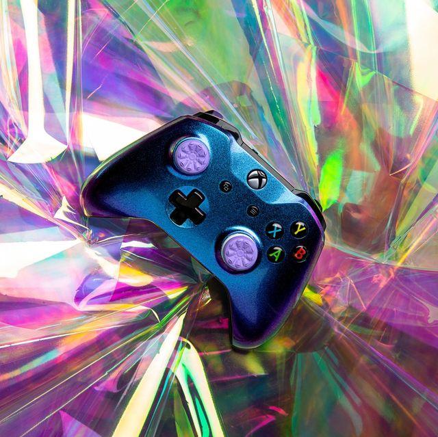 kontrolfreek fps freek galaxy purple performance thumbsticks