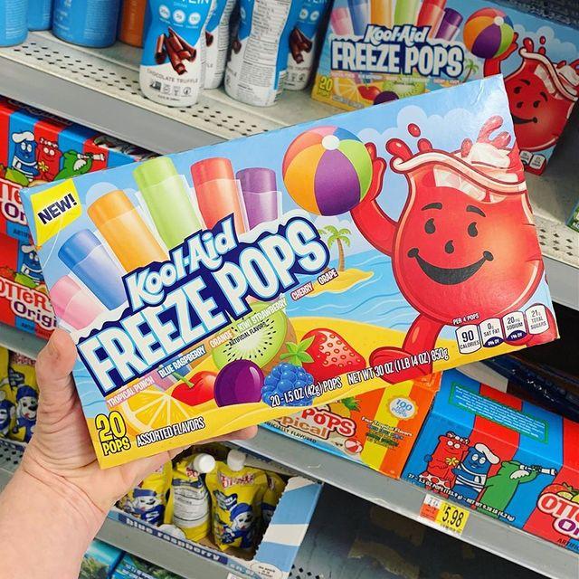 kool aid freeze pops