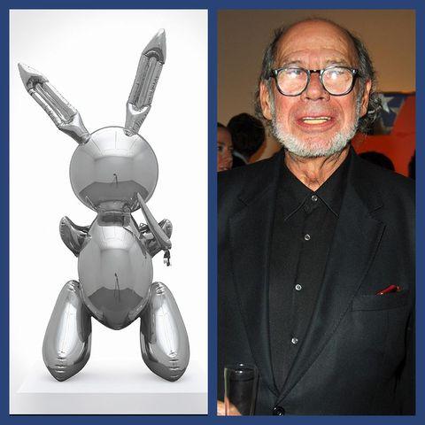 Robert Mnuchin / jeff koons rabbit