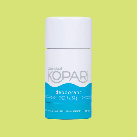 kopari coconut oil deodorant review