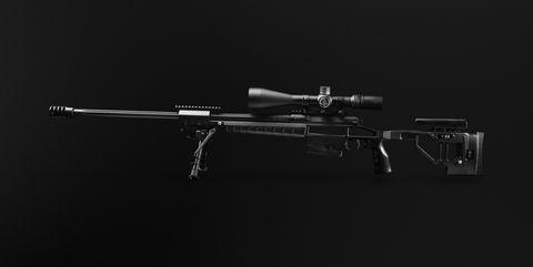 Gun, Black, Photography, Still life photography, Black-and-white,