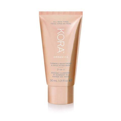 kora organics exfoliating gezichtsmasker