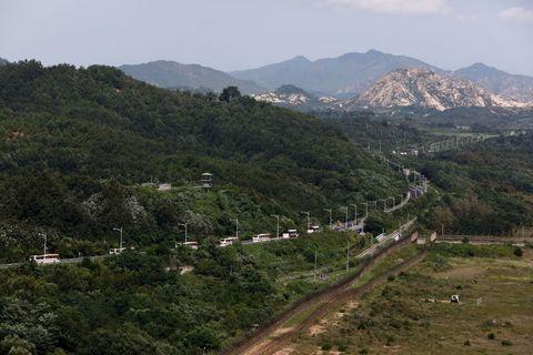 korean dmz border