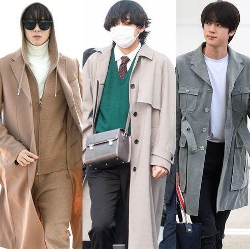 韓国スターの空港ファッション