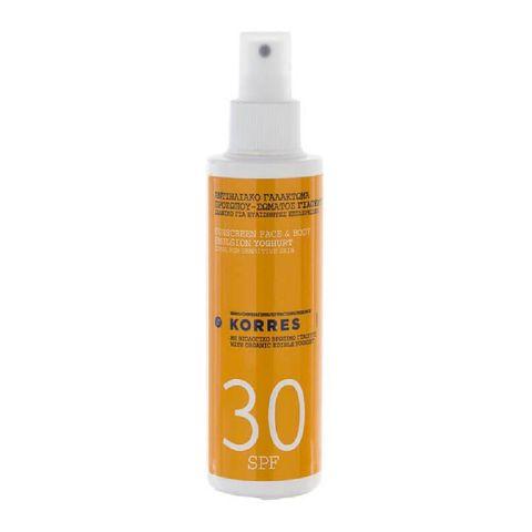 korres korres  sun spray yoghurt spf30  150 ml