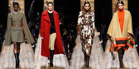 Fashion, Fashion model, Runway, Clothing, Fashion show, Fashion design, Outerwear, Haute couture, Event, Winter,
