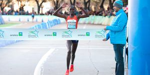Brigid Kosgei Houston Marathon