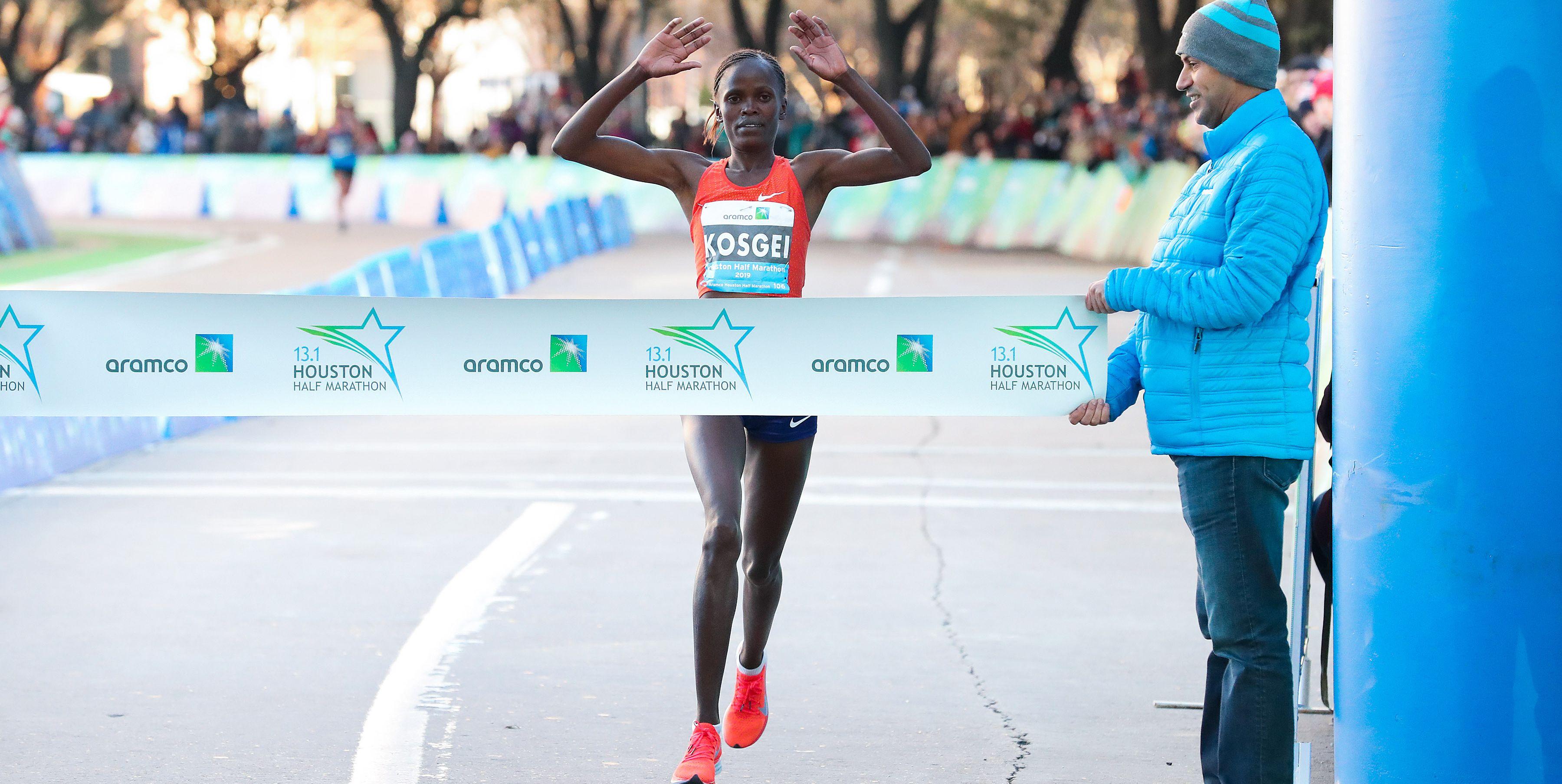 Brigid Kosgei Houston Marathon