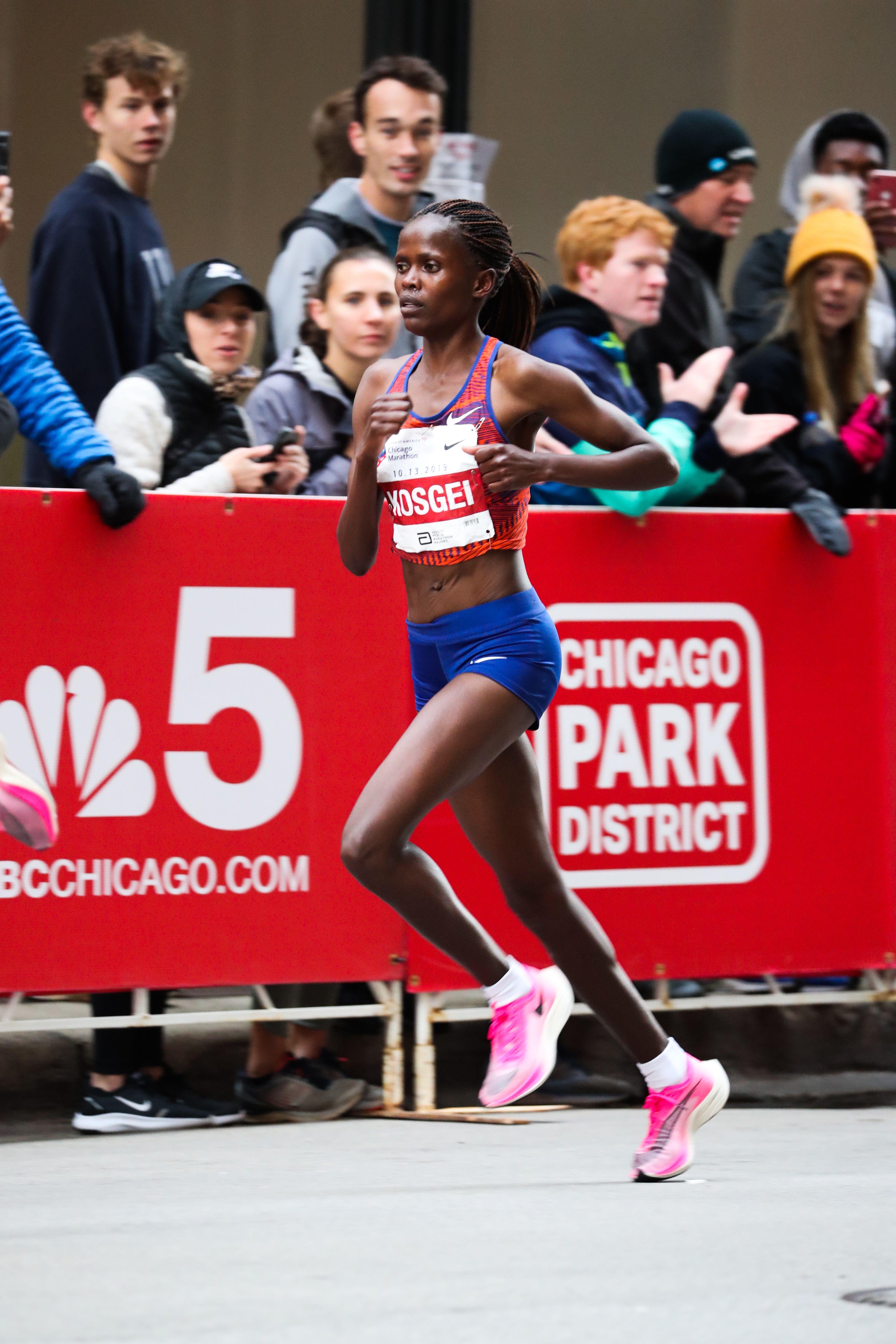 Amazing Stats From Brigid Kosgei's Marathon World Record