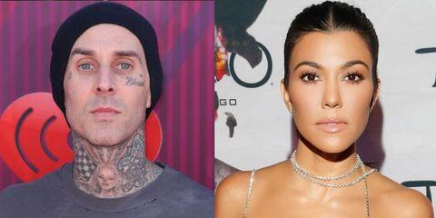 Travis Barker Denies Rumors That He and Kourtney Kardashian Are Dating