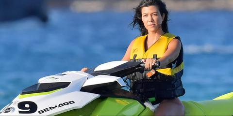 Jet ski, Personal water craft, Vehicle, Boating, Recreation, Motorsport, Water sport, Sports, Watercraft, Lifejacket,