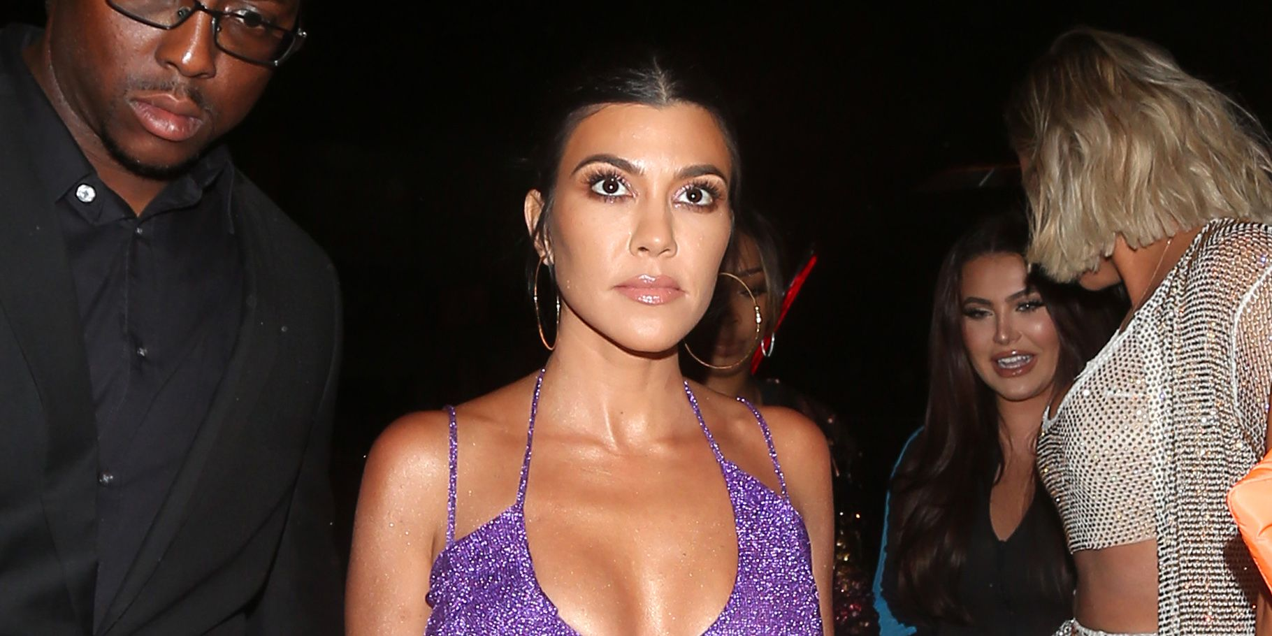 Kendall Jenner, Kourtney Kardashian and Khloe Kardashian all look stunning as they arrive to Craig's eatery to celebrate Kylie Jenner's 21 birthday party