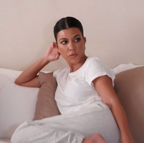 Kourtney Kardashian, robada en su casa por una niñera