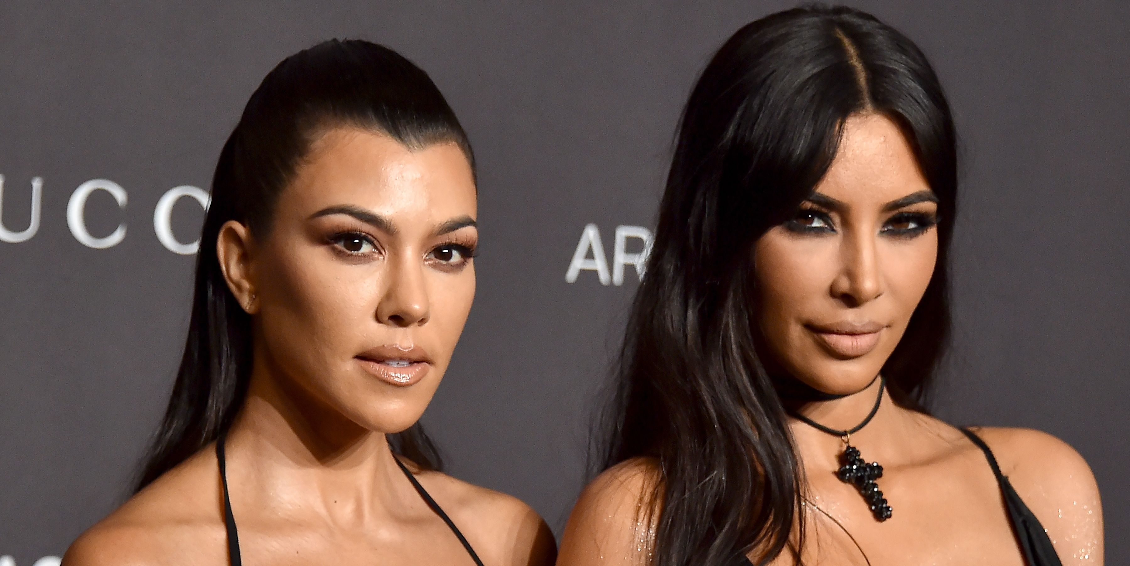 Kim Kardashian Jokingly Called Out Kourtney Kardashian, Again, For Being Vicious